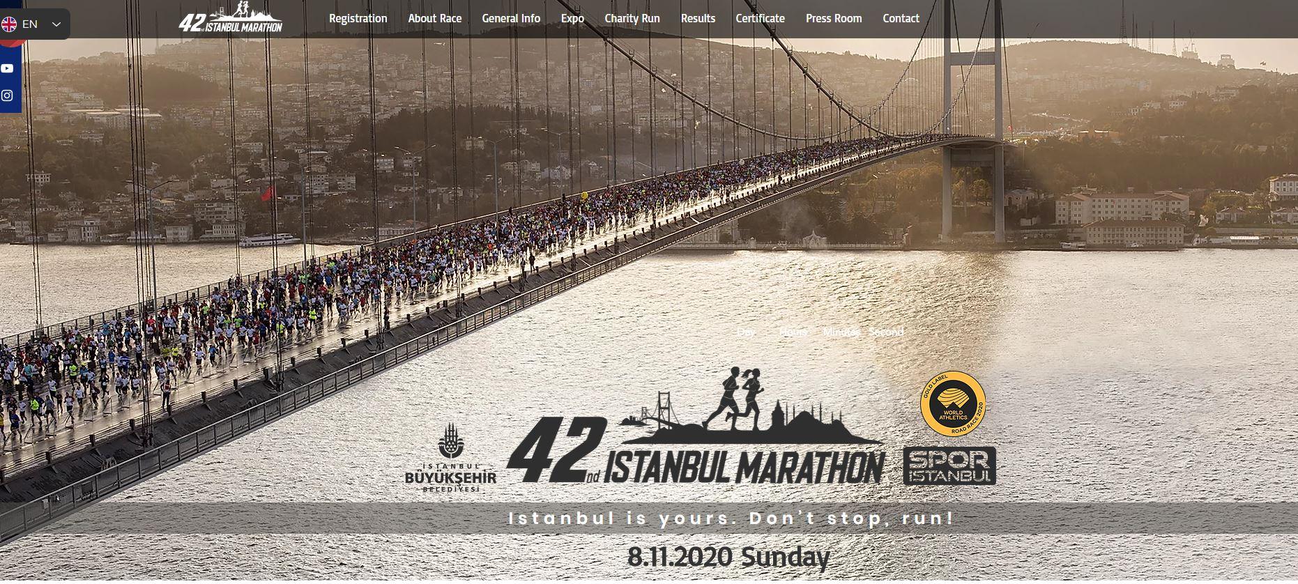 istanbul maratonu ne zaman ve nerede